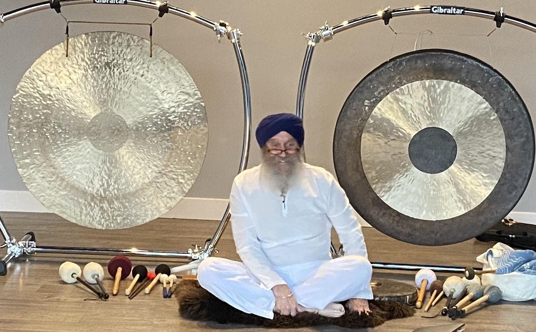 Karambir Singh Khalsa Gong Meditation Southwest Utah